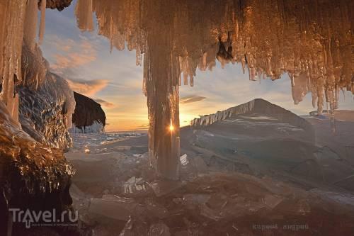 История одного заката на Байкале