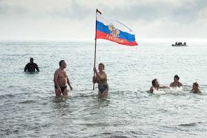 Россия: Евпатория отметит Рождество моржовым заплывом