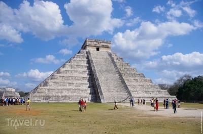 Путешествие по Мексике. Мерида. Чичен-Ица, Канкун, Шкарет, Тулум