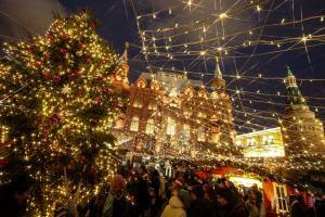 Москва начинает «Путешествие в Рождество»