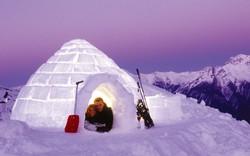 На Камчатке строят отель из снега и льда с горячим бассейном