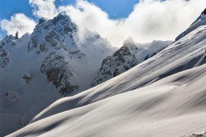 Французские Альпы остались без снега