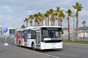 Россия: Сочинские автобусы перейдут на безналичную оплату