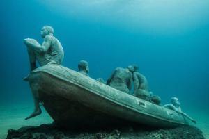 Испания: Первый западноевропейский подводный музей появился на Ланцероте