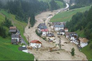 Европа после жары погрузилась под воду