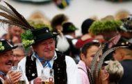 В Мюнхене начинается пивной фестиваль Октоберфест