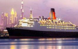 В Дубае на борту круизного лайнера откроется 13-этажный плавучий отель